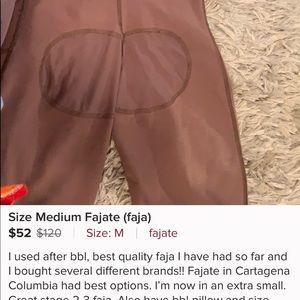 Colombian faja (post BBL garment)